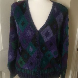 Sigrid Olsen cardigan sweater. Size L
